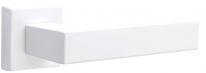 Дверная ручка на квадратной розетке FIMET 1317/215 KUBO белый BO
