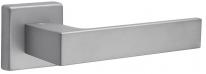 Дверная ручка на квадратной розетке FIMET 1317/215 KUBO матовый хром F16