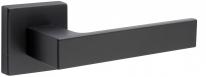 Дверная ручка на квадратной розетке FIMET 1317/215 KUBO черный NO