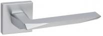 Дверная ручка на квадратной розетке  FIMET 1351/204 PRISMA хром матовый F05
