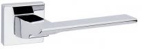 Дверная ручка на квадратной розетке FIMET 1353/204 ITALIA хром полированный F04