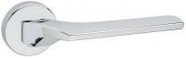 Дверная ручка на круглой розетке FIMET 1354/242 CORSA хром полированный F04