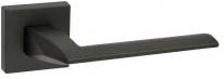 Дверная ручка на квадратной розетке FIMET 1352/204 PURA черный NO