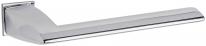 Дверная ручка на квадратной розетке FIMET 1352/243 PURA хром полированный F04
