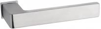 Дверная ручка на квадратной розетке FIMET 168/243 ICE матовый хром F05