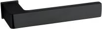 Дверная ручка на квадратной розетке FIMET 168/243 ICE черный вельвет F57