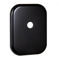 Декоративная накладка под шток Fuaro ESC 486-O SQ XL BL-24 (черный)