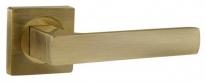 Ручка на квадратной розетке Ajax ERGO JK ABG-6 зелёная бронза