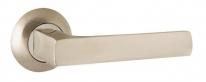 Ручка на круглой розетке Ajax ERGO JR SN/CP-3 матовый никель/хром