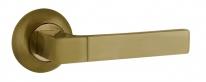 Ручка на круглой розетке Ajax FUSION JR ABG-6 зелёная бронза