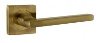 Ручка на квадратной розетке Ajax POLO JK ABG-6 зелёная бронза