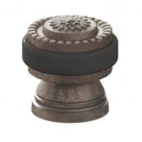 Ограничитель дверной напольный Armadillo DH062 CL/AS-9 Античное серебро