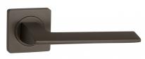 Ручка дверная на квадратной розетке Punto ROTO ZQ GR-23 графит