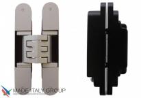 KUBICA 5080 DXSX, NS петля скрытая универсальная Матовый никель (80 kg)