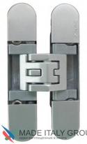 KUBICA 6400 DXSX, NS петля скрытая универсальная самоцентрующаяся Матовый никель (45 kg)