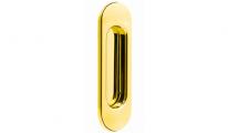 Ручка на раздвижные двери Tupai 4052-01 Полированная латунь (1шт)