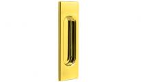 Ручка на раздвижные двери Tupai 4053-01 пол. латунь