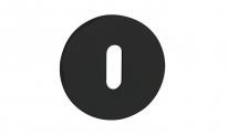 Накладка Tupai 4045 5S-153 прорезь черный