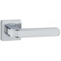 Ручка дверная на квадратной розетке Vantage V09CP хром