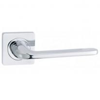 Ручка дверная на квадратной розетке Vantage V13CP хром