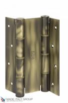 Дверная петля пружинная двусторонняя ALDEGHI 155x40 матовая бронза ALD136