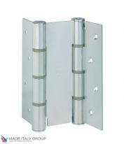 Дверная петля пружинная двусторонняя ALDEGHI 155x50 оцинкованная ALD141