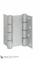 Дверная петля пружинная двусторонняя ALDEGHI 155x50 матовый хром ALD143