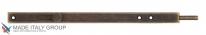 Задвижка дверная усиленная ALDEGHI 300мм античная бронза ALD023