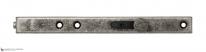 Задвижка дверная усиленная ALDEGHI 300мм античное серебро ALD024
