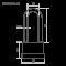 Замок навесной всепогодный Нора-М ЗНВ-700дд-38 (45мм)