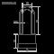 Замок навесной всепогодный Нора-М ЗНВ-700дд-63 (72мм)