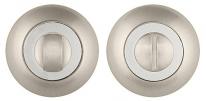 Дверная завертка Punto BK6 ZR SN/CP-3 матовый никель/хром