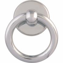 Ручка - гонг (Стучалка) 600 Ring ANELLO 110 mm Полированный хром