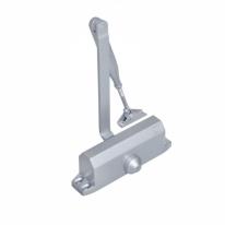 Доводчик DL77N size 4/5 серебристый, крепежные размеры 162-168ммX19мм