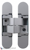 Дверная петля скрытая универсальная Venezia KMB3-CM матовый хром