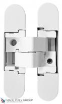 Дверная петля скрытая универсальная Venezia KMB3-BI Белый Матовый
