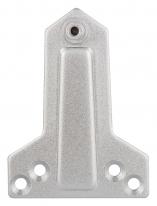 Монтажная пластина DC/MP-AL (алюминий) для параллельной установки доводчика