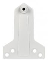 Монтажная пластина DC/MP-WH (белая) для параллельной установки доводчика