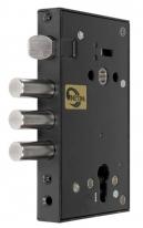 Корпус врезного замка с защёлкой ЗВ4 703.0.0 (без лицевой планки)