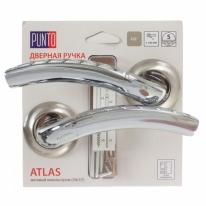 Ручка раздельная ATLAS TL/HD SN/CP-3 матовый никель/хром