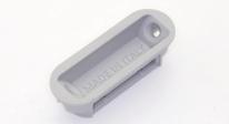 Ответная планка для магнитного замка Morelli Innovation W7 под SC Матовый хром