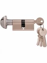 Дверной цилиндр Melodia 60 30/30 WC 5 ключей Полированный хром